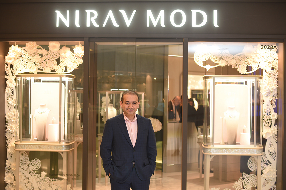 Nirav Modi, a third generation jeweller